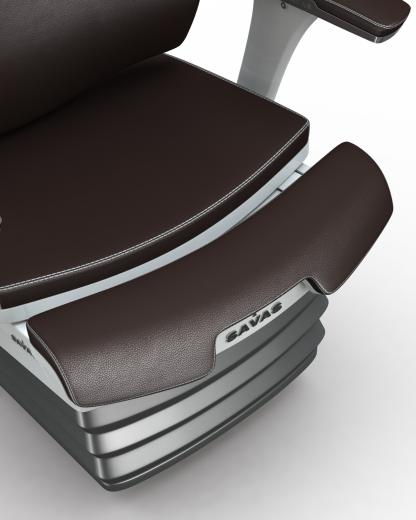 - the growing seat - especially made for rail operators - superb comfort - highly adjustable for a large population