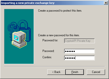 Installing the Certificate (Cont d) Enter Your CAC PIN as a Password