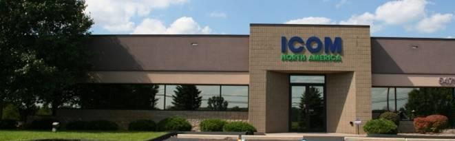 ICOM North America Established its North American operations in 2004.