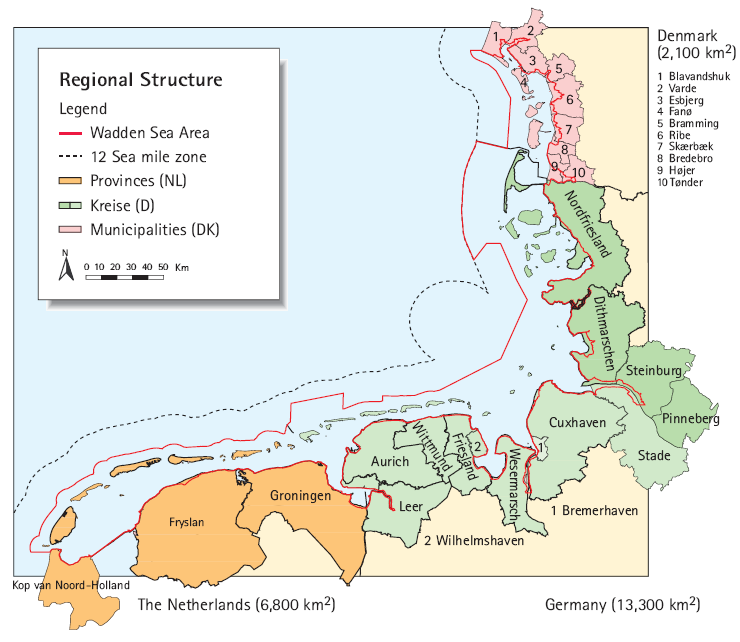 The Wadden Sea Region: Stakeholders The Wadden Sea is an area