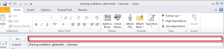 Microsoft Outlook 2010 Basics 73 Shared Calendars At times, you may want to share your calendar with other employees. Sharing a Calendar 1. Select the Calendar link in the Navigation Pane. 2. Right-click on the calendar you wish to share.