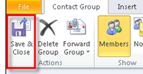 Microsoft Outlook 2010 Basics 83 Creating Contacts You are not limited to the University of Louisville Global Address addresses. You can add contacts to your personal contact folders. 1.
