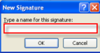 86 Microsoft Outlook 2010 Basics Signatures and Stationery Signatures Signatures are a great feature of Outlook. You can include a certain set of text and/or images with every e-mail that you send.