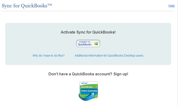 Step 7: Once you have reviewed the requirements, click the Connect to QuickBooks button. Note: You must allow pop-ups from Intuit in your browser settings to continue the setup process.