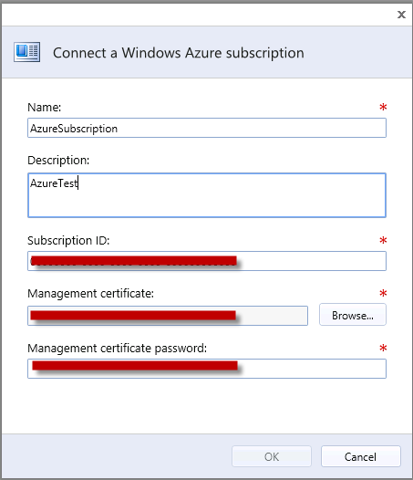 Chapter 4: Solution Implementation The SCVMM server appears under the Connections page. Connect to Windows Azure To connect to a Windows Azure subscription, follow these steps: 1.
