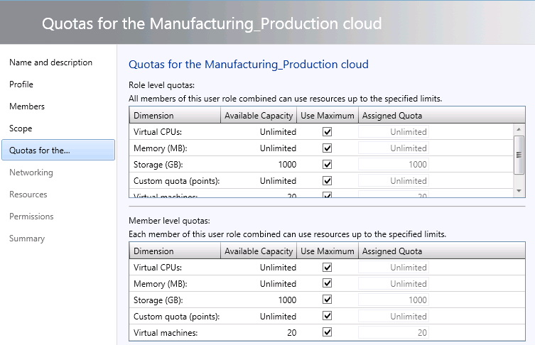 Chapter 5: Solution Verification Production administrator and a self-service administrator role to the organization s users on the Manufacturing Production cloud. Figure 9.
