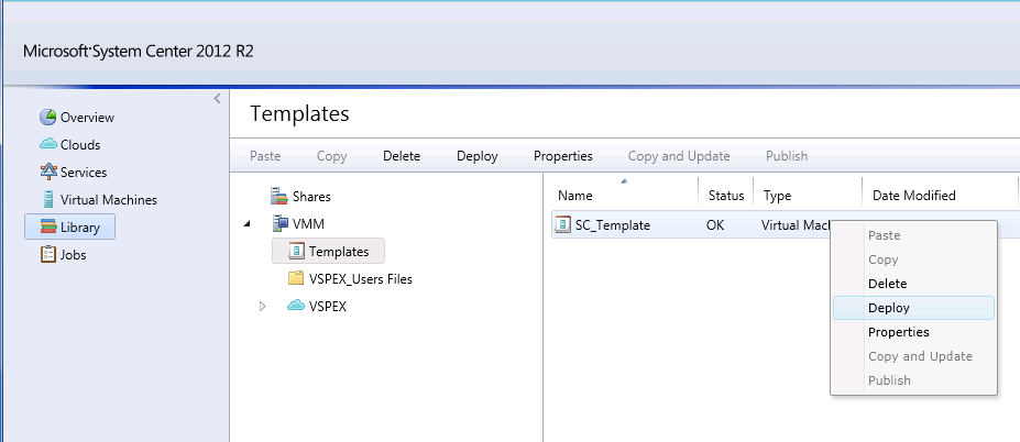 Chapter 5: Solution Verification The Microsoft TechNet article Creating User Roles in VMM provides detailed information about creating user roles in SCVMM: http://technet.microsoft.