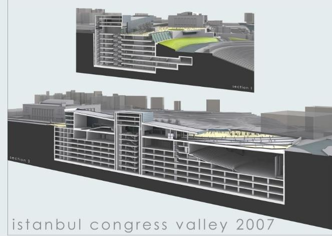 II) Istanbul Congress Center 2007 Muhsin Ertuğrul Theatre Building planned to be