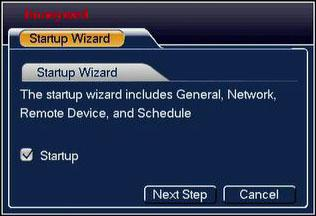 NVR User Interface The GUI is intuitive and easy to use, and the Startup Wizard will have