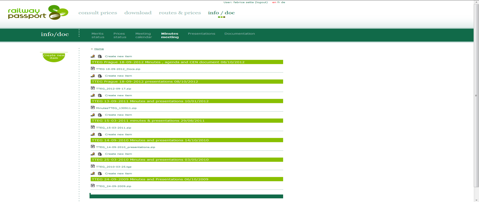 Info / doc اطالعات سند / > Info / doc is the part of passport where to find all related documentation