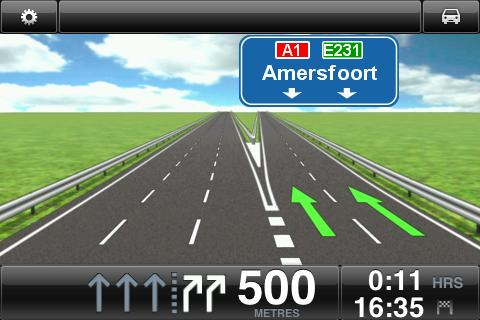 Advanced Lane Guidance About Advanced Lane Guidance The TomTom app helps you prepare for highway exits and junctions by showing you which lane you should be in.