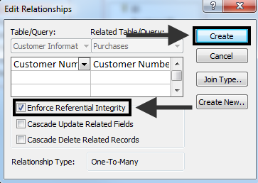 5. Click to select Customer Number in the Customer Information table (see Figure 8). Figure 8 - Customer Number 6.