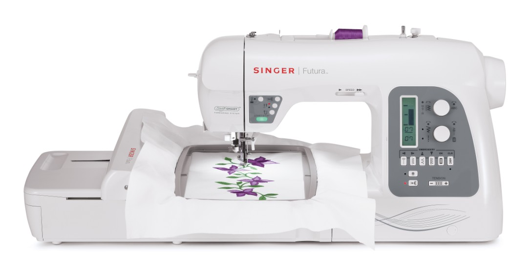 Embroidery Feature Sewing and Embroidery Machine No need for multiple machines in your sewing room. One machine, sewing and embroidery functions.