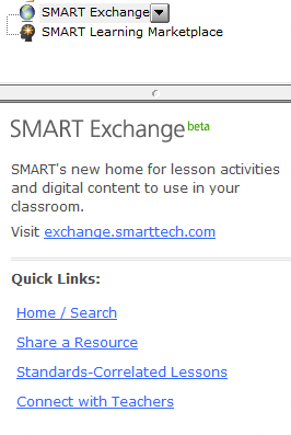 Resources In the Gallery, click on Smart Exchange Resources for teachers to create or view other Smartboard presentations are available.