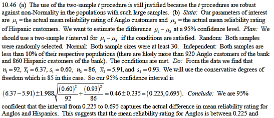 Pooled Two-sample t- statistic: When two