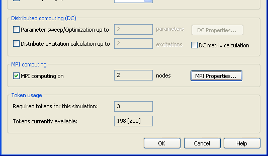 "Acceleration Dialog All acceleration features can be configured at a central position for all solvers. Multithreading Press the ""Acceleration."