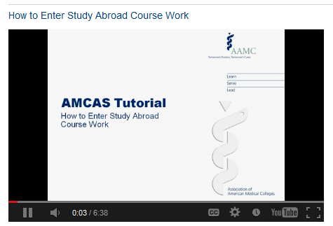 AMCAS Tools Instruction Manual and