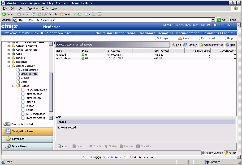 Deployment Guide ICA Proxy for XenApp Citrix Receiver for
