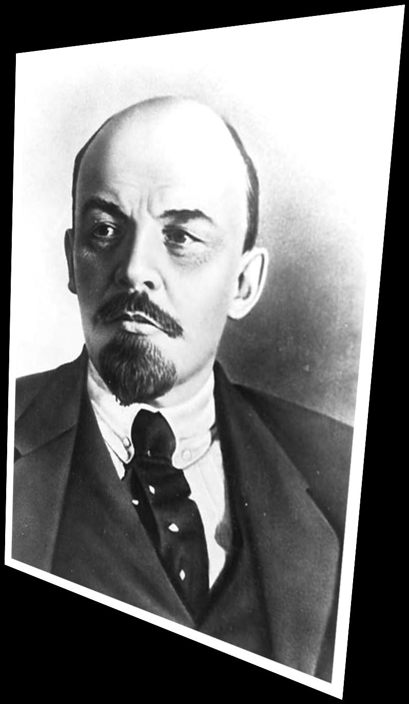 Vladimir Lenin took over as the leader of