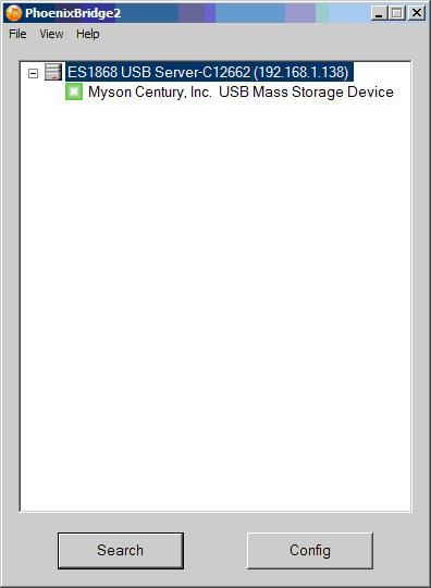 Using Your First USB Device Step 1 - Connecting a USB Device to the USB Server Once a USB device is connected to the
