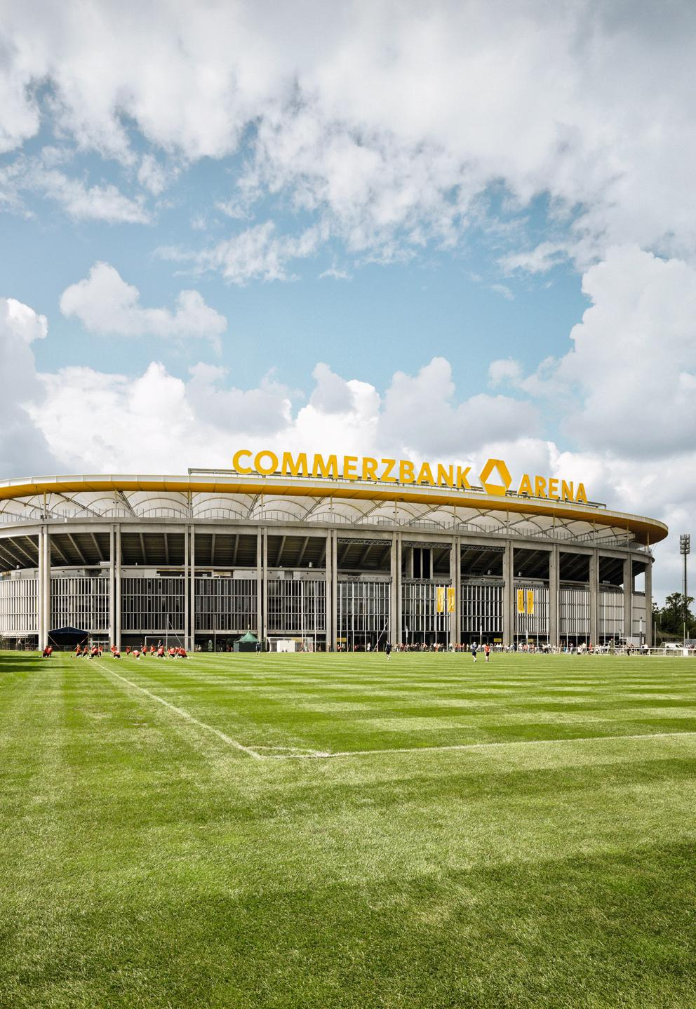 Venue Commerzbank Arena - Frankfurt, Germany The Commerzbank Arena is the home ground of Bundesliga team Eintracht Frankfurt, and was a FIFA World Cup Stadium in 2006 and 2011: Football capacity of