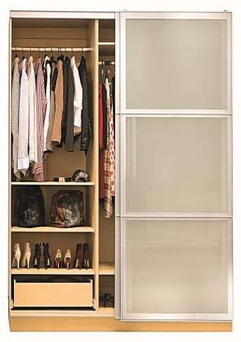 Wardrobe features Pre drilled