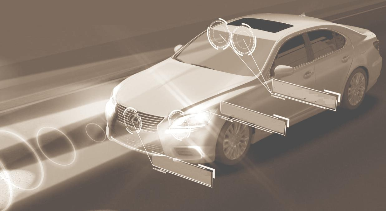 Pre-Collision System (PCS) for preventing pedestrian accidents The PCS with pedestrian detection rolled out in 2013MY Lexus