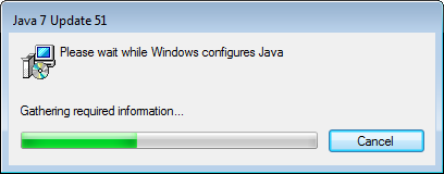 4. Click on the prior Java version and click Uninstall 5.
