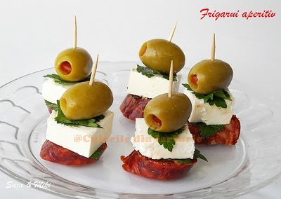 ANTIPASTO SKEWERS Make enough