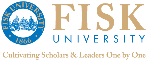 F I S K U N I V E R S I T Y B R A N D The Logo The Fisk University logo consists of the University seal and Fisk University in blue and gold type.