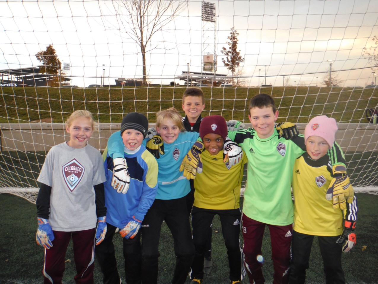 Acknowledgements Thanks to all of the U11-U12 goalkeepers from the Colorado Rapids Academy and Burgundy teams.