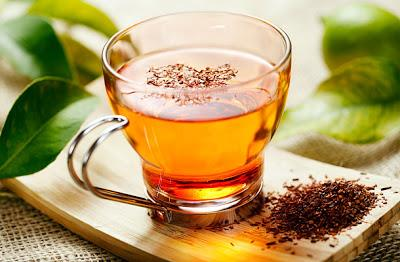 Rooibos and Cardamom Iced Tea 3 Rooibos Tea Bags 3 Crushed Cardamom Pods 1 Tsp. Lemon Juice 1 Tsp. Organic Raw Honey 1. Boil a cup of water and put 3 crushed Cardamom Pods. Put 3 Tea Bags, 1 Tsp.