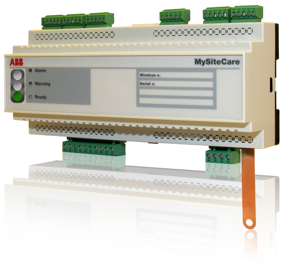MySiteCare MySiteCare monitoring and diagnostic unit uses various sensors to acquire circuit breaker and switchgear data and converts them into diagnostic information so as to assess the conditions