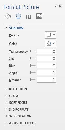 This allows you to insert another file while keeping any effects or positioning you have applied. If the new image looks distorted, click on the dialog box launcher in the Size group and click Reset.
