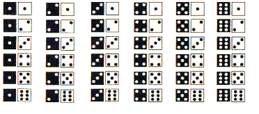 Question 2: Now, how many possible results are there when you roll 2 dice? Ok, I ll make it easy for you. Look at the diagram below: This diagram shows every possible combination when rolling 2 dice.
