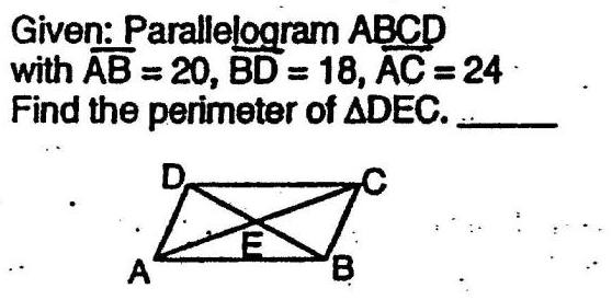 Parallelograms 1.