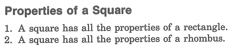 Chapter 5 (Section 5) Day 8 Rhombi and Squares Warm - Up 1. 2.