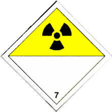 Class 7 - Radioactives Give off a form of energy that can break down atoms and molecules. Exposure to radiation can damage tissue and bones. Exposure can also cause cancer and genetic mutation.