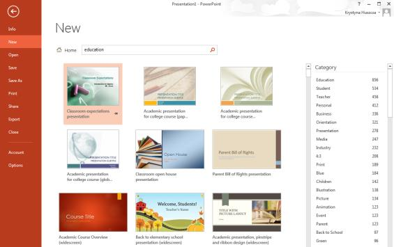 Selecting a Design Theme If you intend to work with a design theme it is best to select it early on.