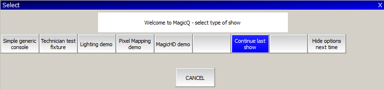 MagicQ User Manual 17 / 342 Chapter 3 Using MagicQ on PCs and Macs The MagicQ software for PCs and Macs has exactly the same features as the MagicQ console software with support for 64 Universes.