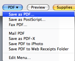 Saving Notes Page as a Separate Document 1. Select Print from File menu to display Print window. 2. Select Notes next to the Print What box. Figure 10.