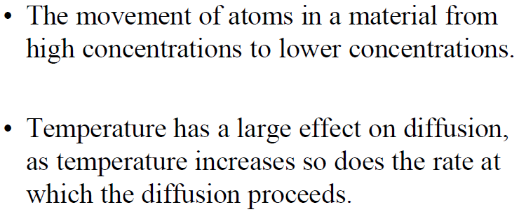 DIFFUSION As T of the system is increased, more and more molecules will attain the activation energy level.