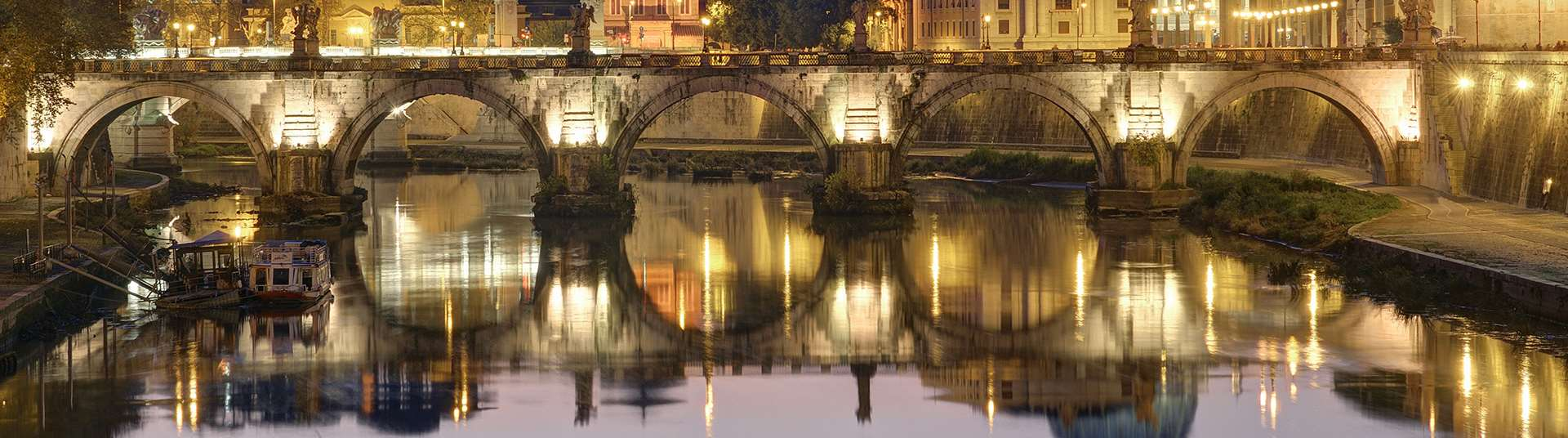 VISIT ROME, THE ETERNAL CITY The Eternal City, with its ruined but still imposing monuments, through the imperial, medieval, Renaissance and Baroque periods and beyond, has undergone many
