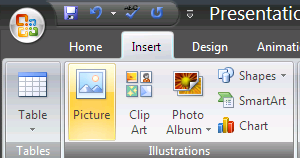 A new Insert Picture window will open. 2 Navigate to the folder where you saved your pictures. Open. Click once on the picture you want to import.