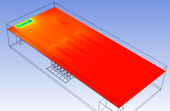 ASHRAE CFD Study: Attempts to Seal the Server Rack to Prevent Localized Hot Air Leakage is Driving Rack Pressure Higher Server manufacturers will not warranty servers placed in operating environments