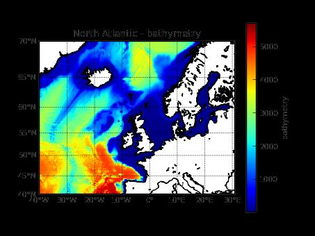 Kriegers Flak Model setup - current Ocean 1 setup: North Atlantic 2D surge-model (app.