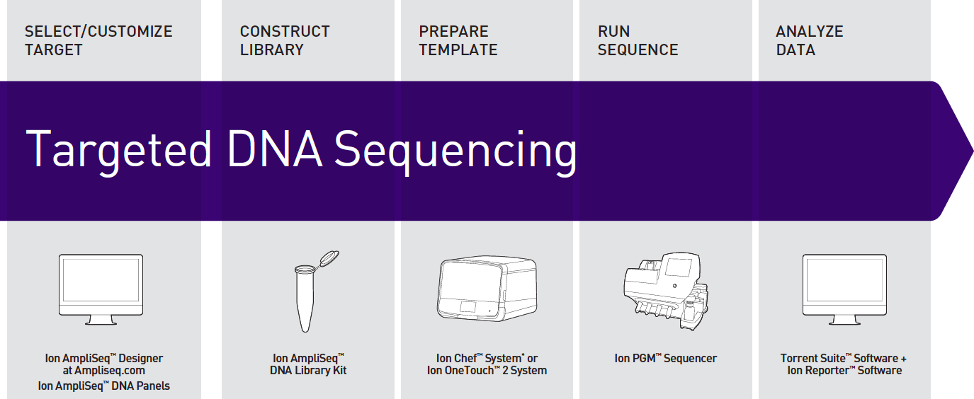 Ion AmpliSeq Workflow Overview Learn more at http://www.lifetechnologies.