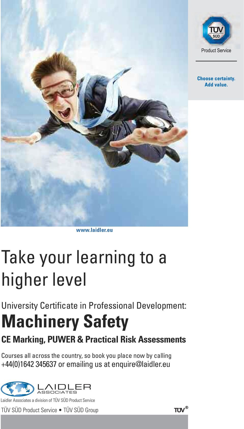 Machinery Safety CE Marking, PUWER & Practical Risk Assessments Courses all across the country,