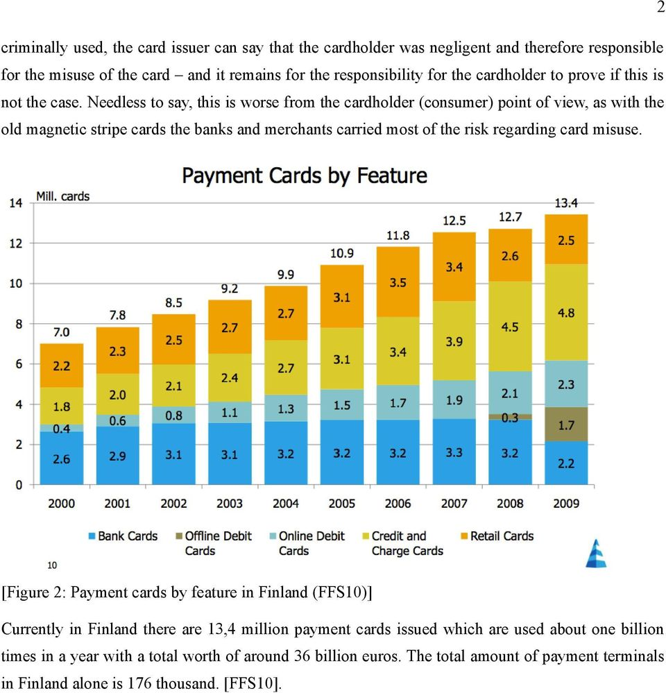 Needless to say, this is worse from the cardholder (consumer) point of view, as with the old magnetic stripe cards the banks and merchants carried most of the risk regarding