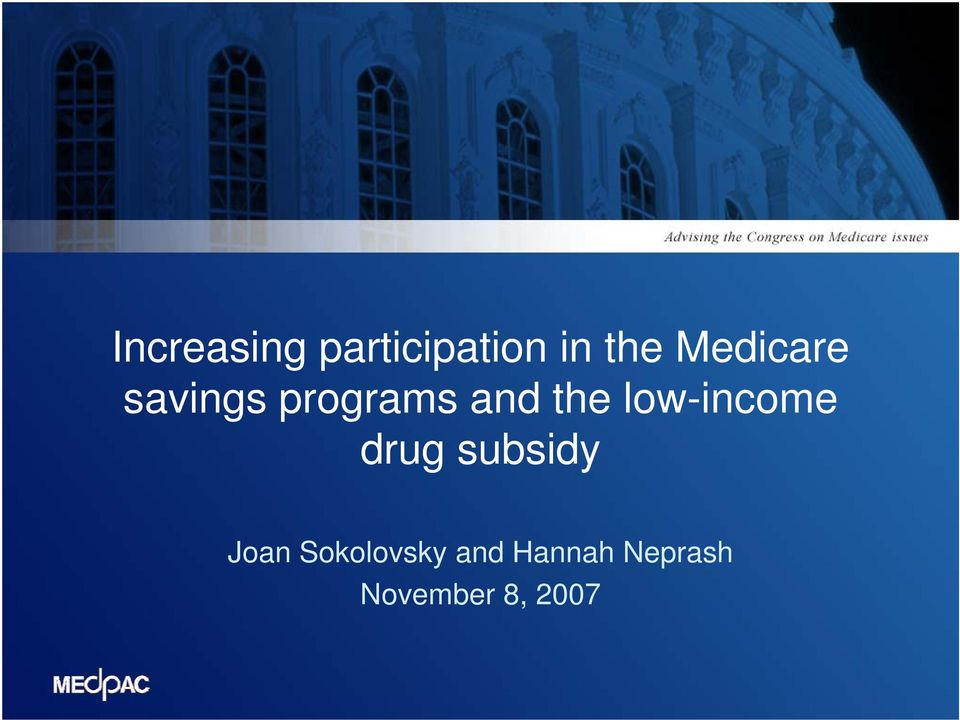 low-income drug subsidy Joan